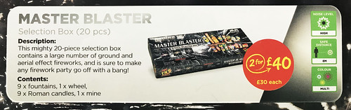 £30 ASDA PRICE - MASTER BLASTER SELECTION BOX