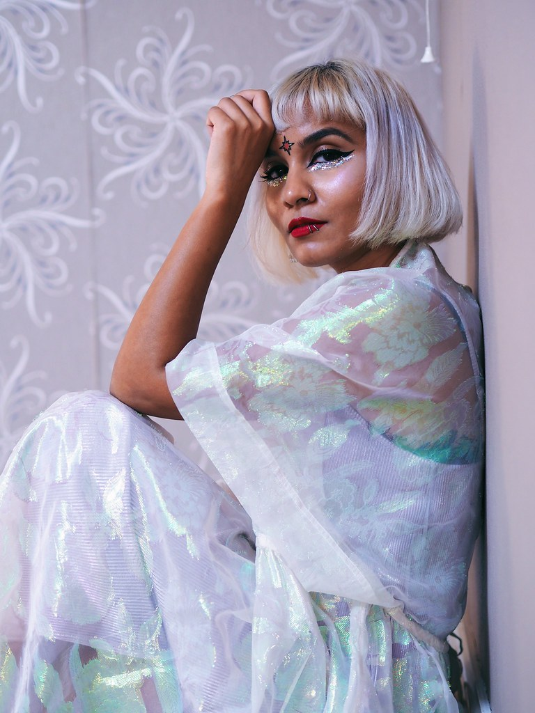 Alternative Punk South Asian Desi blogger girl