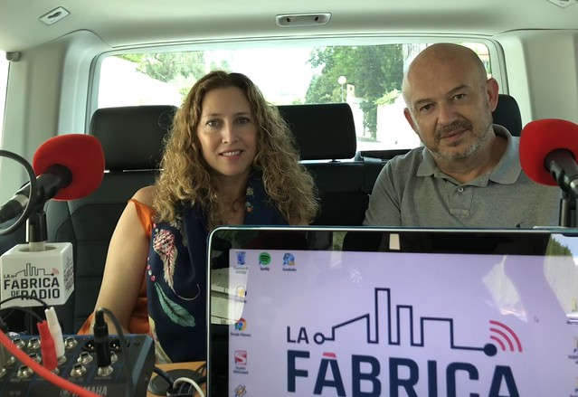 Nacho Maño Gisela Renes  La Fabrica de Radio 2
