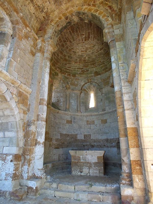 Camboulit - Ruines de l'église Saint-Martin (Bru)
