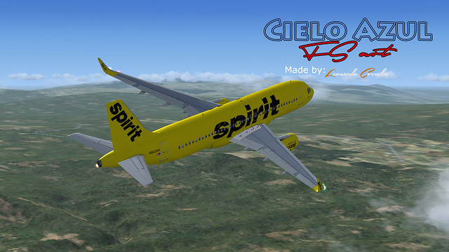 Spirit Airlines (N642NK) v2.0