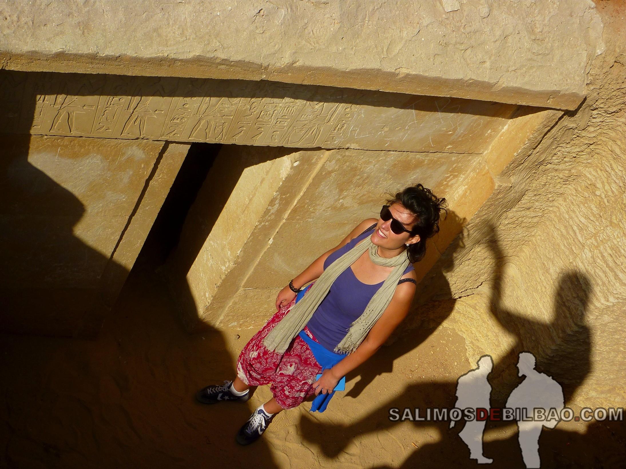0338. Saioa, Tumbas en el Complejo de la Pirámide escalonada de Zoser, Saqqara