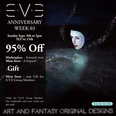 E.V.E Anniversary Week 03