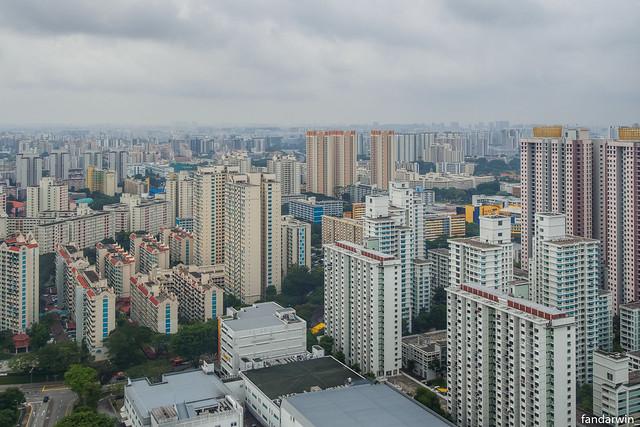 Singapore Skyline - Urban Housing