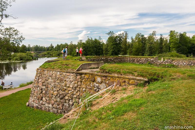 Клок-бастион, крепость Корела в Приозерске