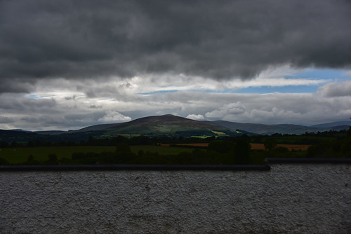 Wicklow Mountains under cloudy sky