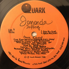 JOMANDA:DRIFTING(LABEL SIDE-B)