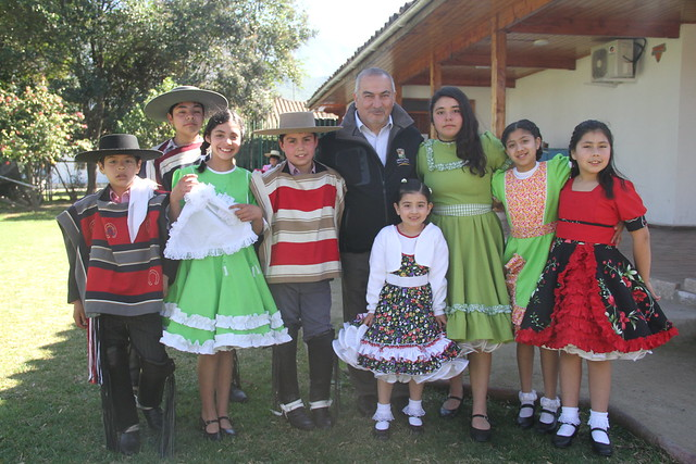 Con cueca masiva dio inicio a las actividades de Fiestas Patrias 2018 en Coltauco