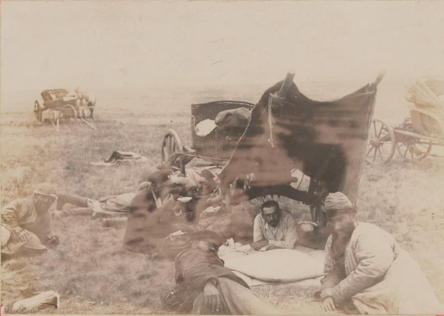 Лагерь моего каравана