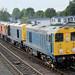 BR Blue 20107 & 20096 lead HNRC 20314 & GBRF 20901 Mexborough
