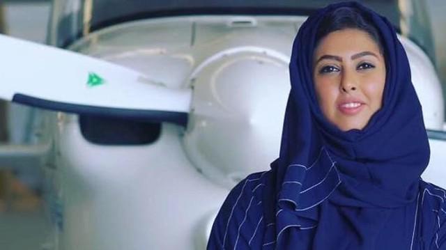 3586 Yasmin Al-Maymani – The first Saudi woman to get a pilot license 01