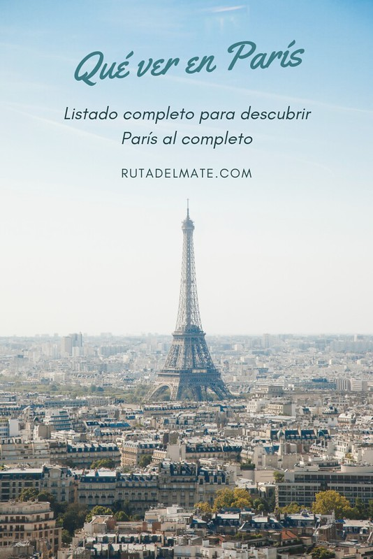 Qué ver en París pin