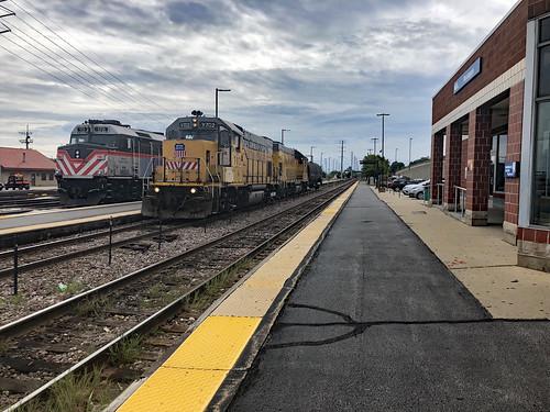 Tom Burke Photo Waukegan IL Metra Station Sep. 7 2018