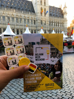 Tokens para el Fin de semana de la Cerveza Belga