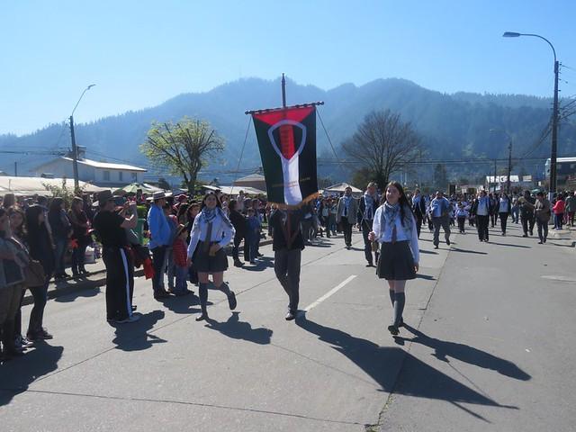Desfile Glorias del Ejercito Chiguayante