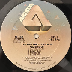 THE JEFF LORBER FUSION:WATER SIGN(LABEL SIDE-A)