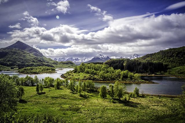 View on Olaholmen