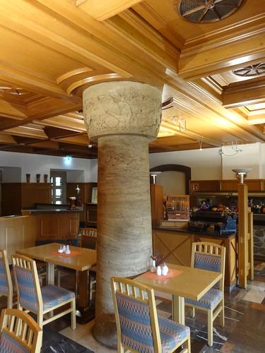 1937/38 Hermsdorf zentrale Raum-Säule in Raststätte mit Restaurant und Hotel am Hermsdorfer Kreuz A9/A4 Am Rasthof 1 in 07629
