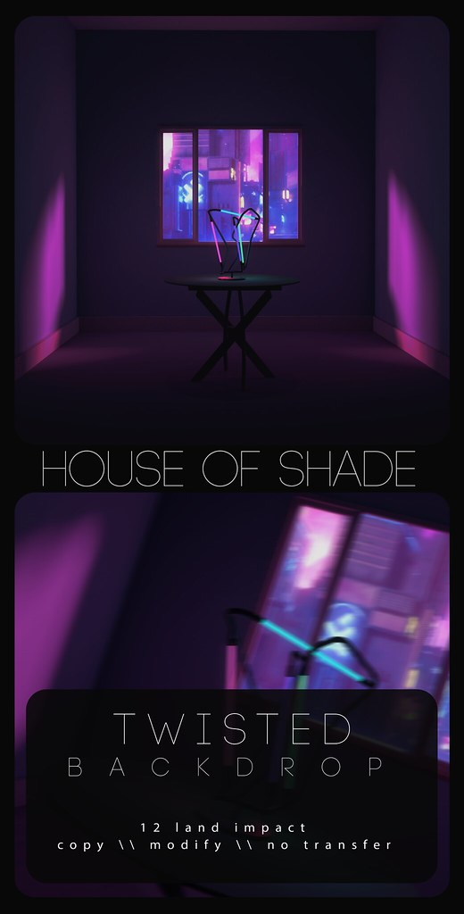 House of Shade - Twisted Backdrop - TeleportHub.com Live!