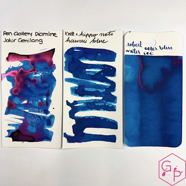 Pen Gallery Diamine Jalur Gemilang Ink Review 8