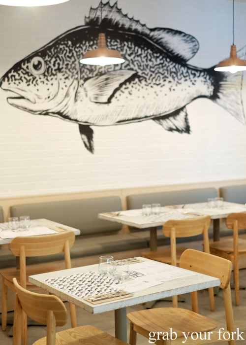 Fich seafood restaurant in Petersham Sydney