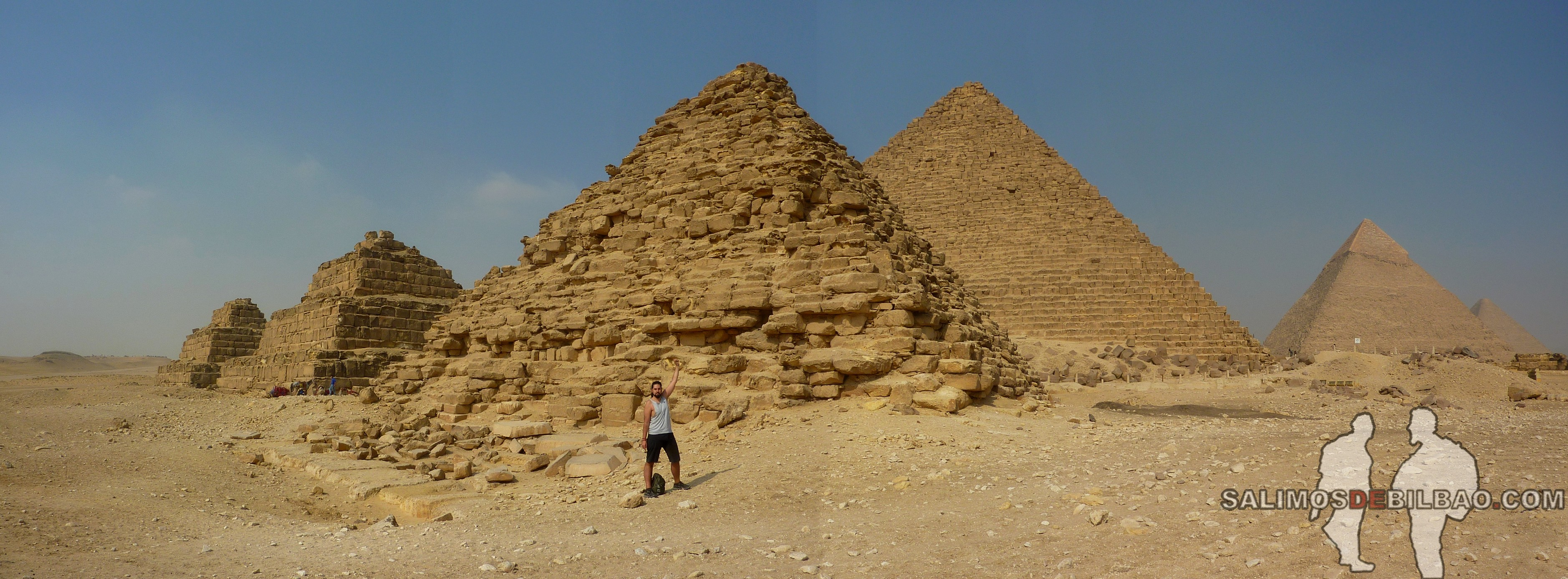 0119. Katz, Pano, Pirámides de Giza