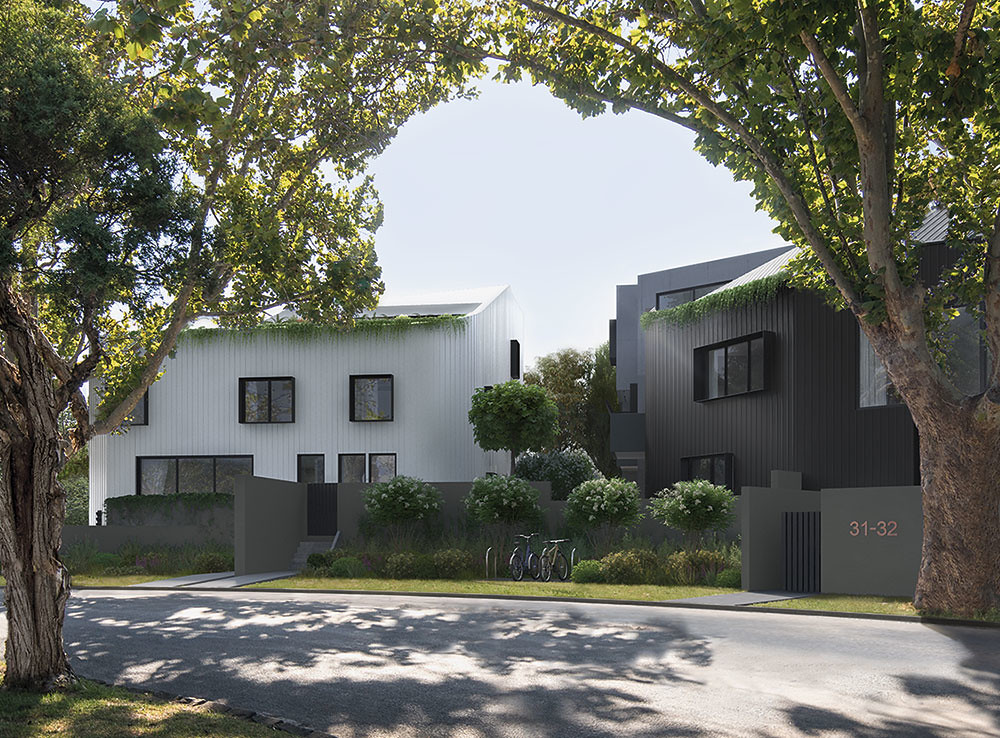 East Apartments, Caulfield - artists impression