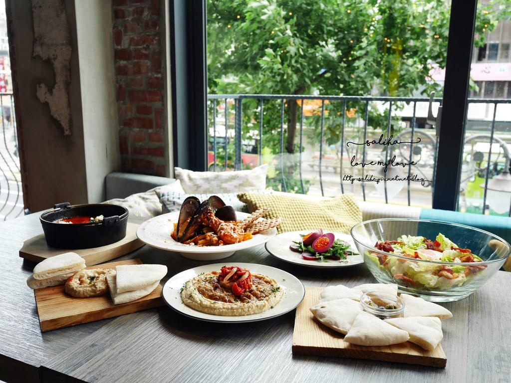 台北大安區好吃早午餐異國料理中東菜推薦吐司利亞咖啡館 (3)