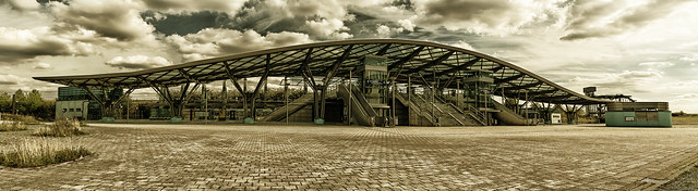 Stadtbahn-Haltestelle Messe-Ost Hannover