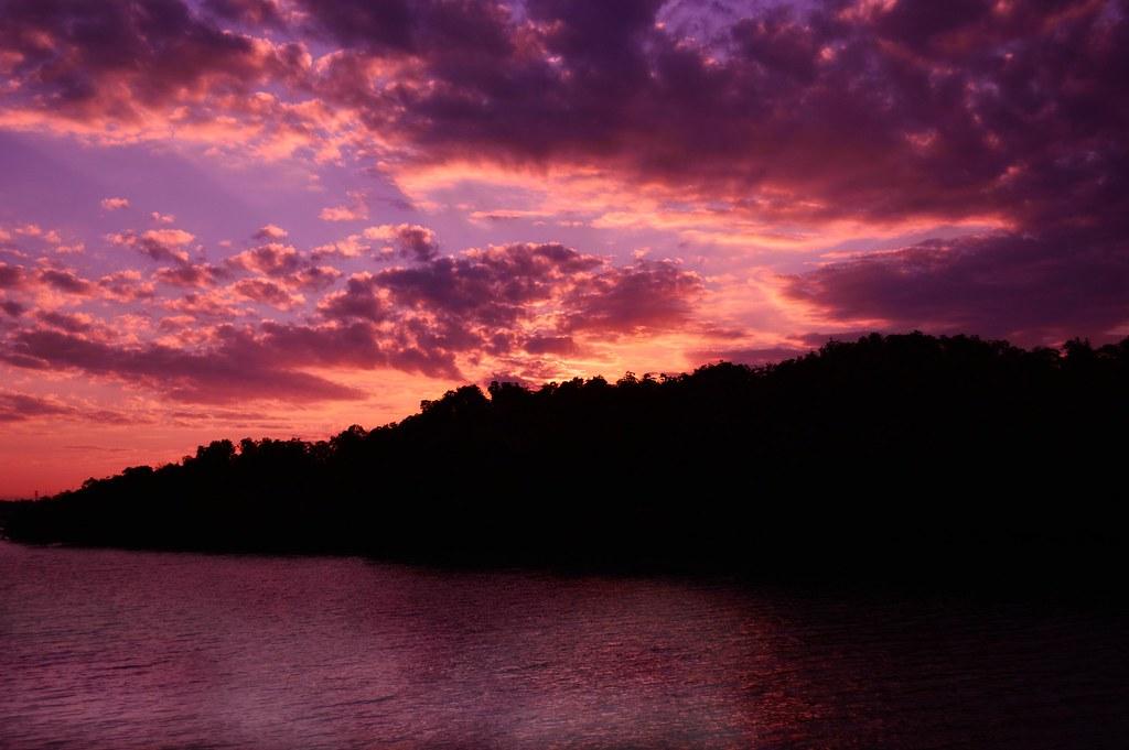 Amethyst sky