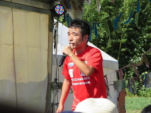 ピーナッツキャンプ2018 カンボジア国籍の猫ひろし