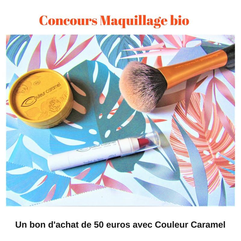 Concours Maquillage bio