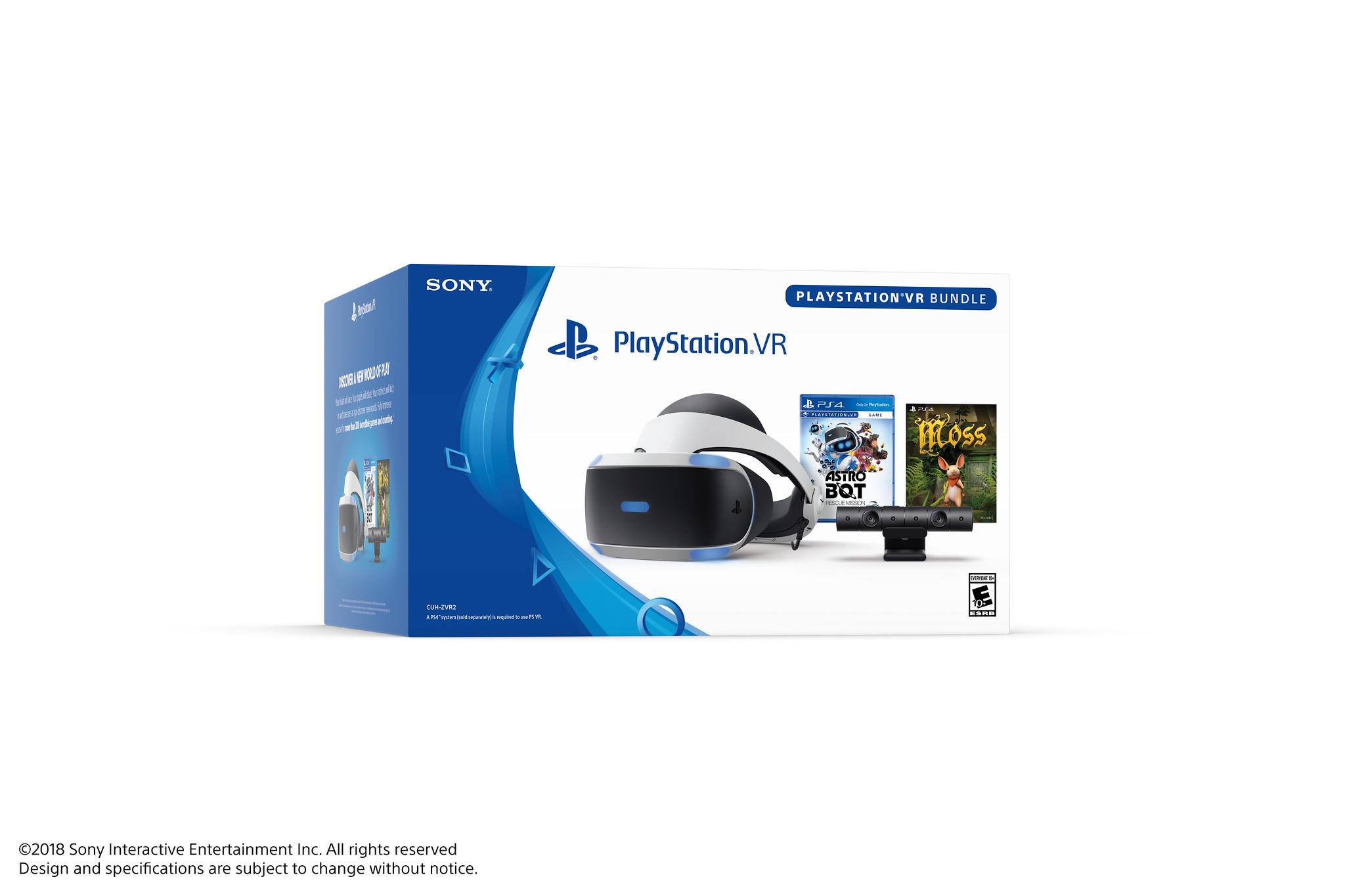 Nuevo Playstation Vr Bundle Llega A Latinoamerica E Incluye Dos
