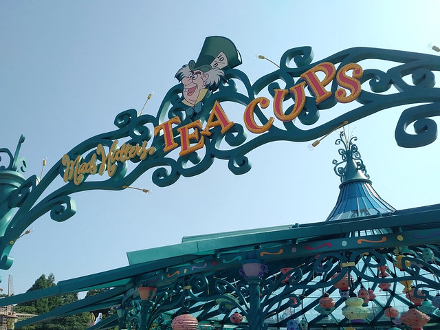 Réhabilitation de Mad Hatter's Tea Cups
