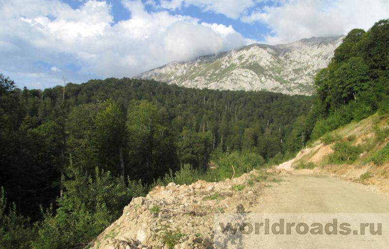 Дорога на Водопадистый август 2018