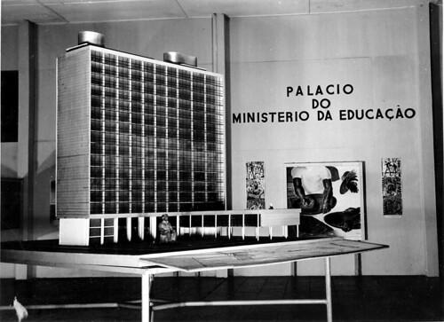 Maquete do Palácio do Ministério da Educação