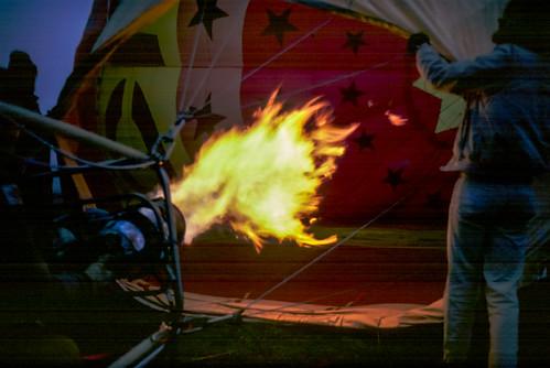 The Roaring Gas Burner