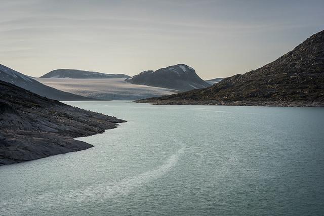 Jostedalsbreen and Styggevatnet / Norway