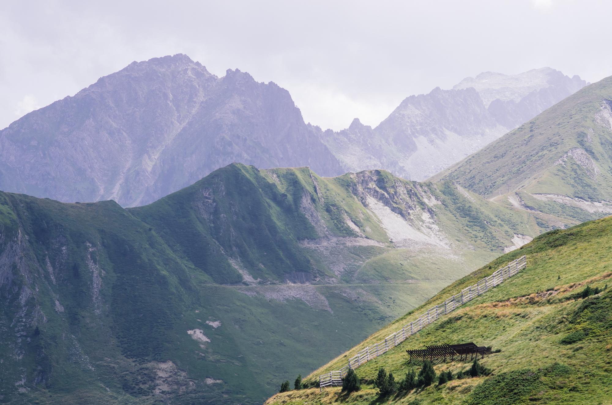 Road-trip en France - Les Pyrénées vues du pic de Viscos