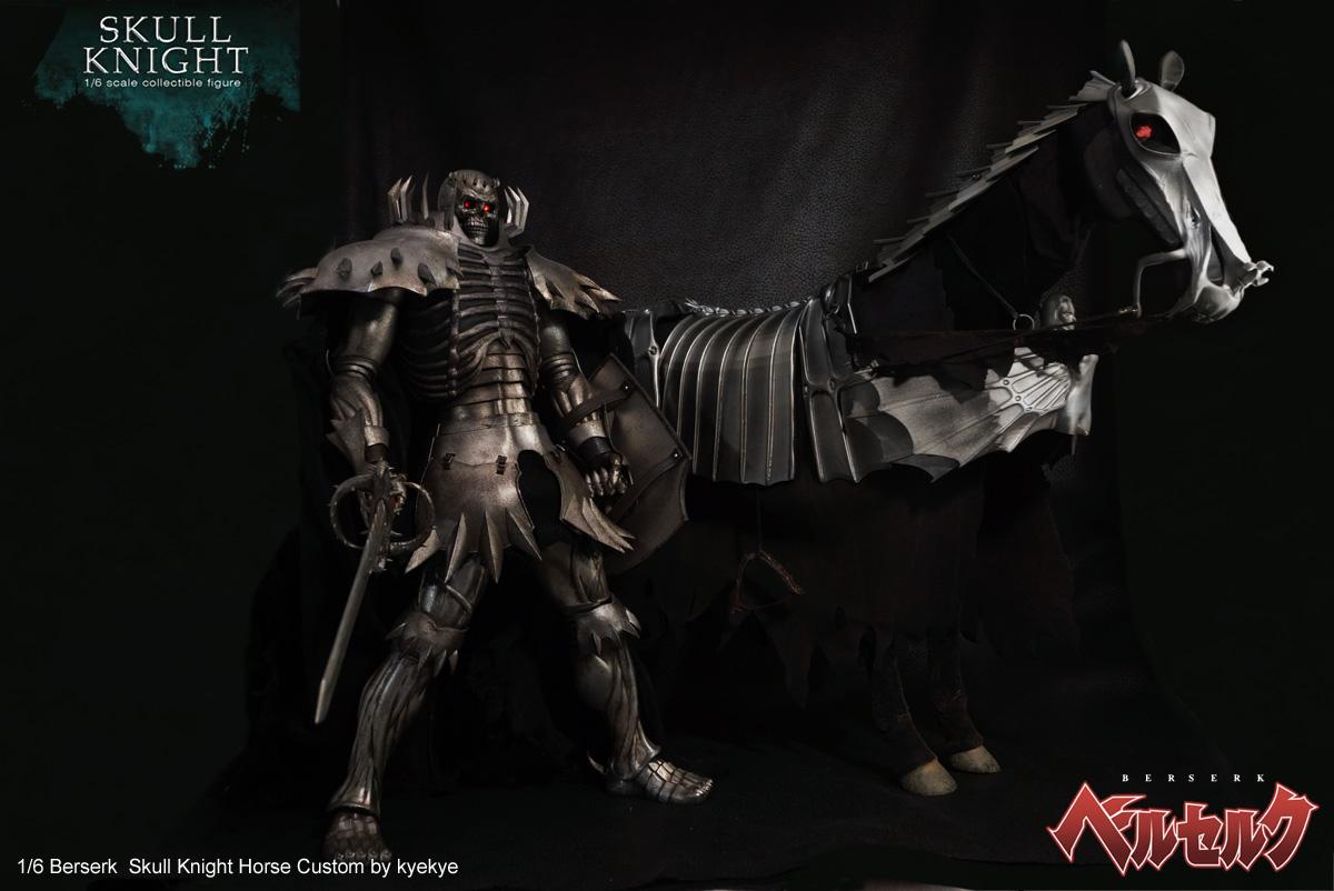 1/6 scale horse armor custom for Skull knight from [Berserk] 42676716370_4b2f37e17a_o
