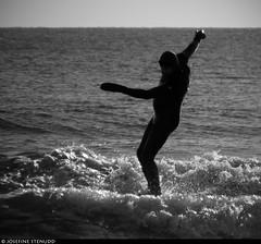 20170101_21 Surfer starting to fall   Rockaway Park, New York City