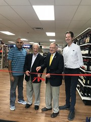 Ken's Wine and Spirits, located on route 44 in Barkhamsted. The owner, Ken Patel, bought the building and completely renovated the space inside and out.