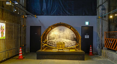 Underground museum of Kurobe Dam
