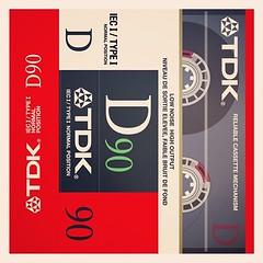 """Cassettes: TDK D90 """"reliable"""" cassette mechanism"""