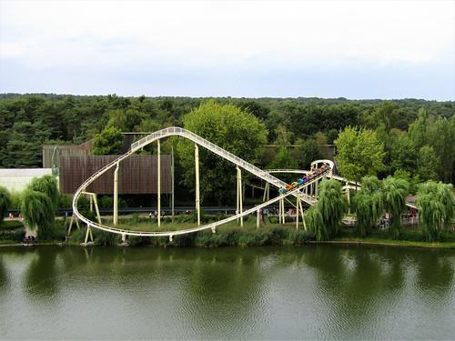 Okidoki rollercoaster in Bobbejaanland