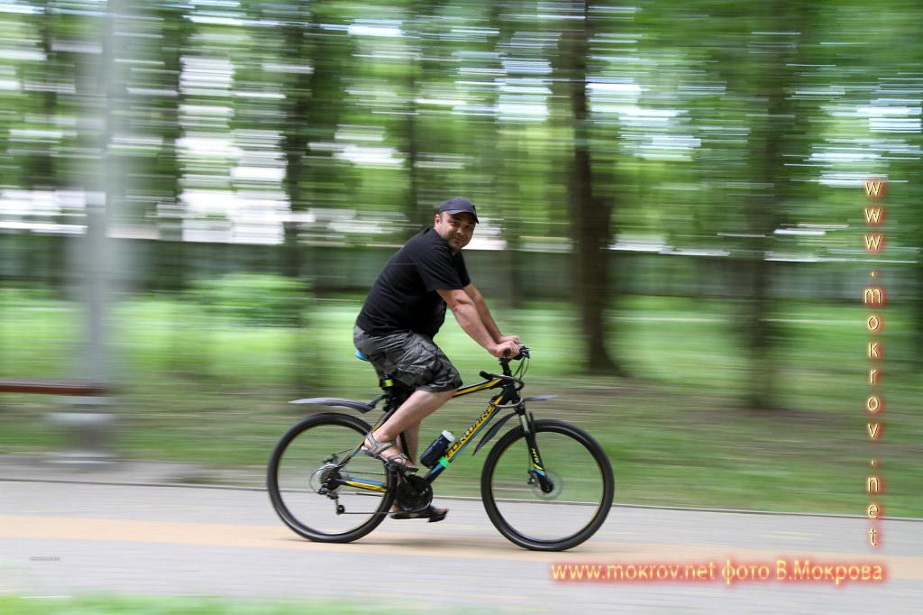 Сафоев Руслан на велосипеде