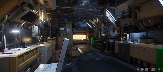 Star Citizen - Illuminazione finale Habitat