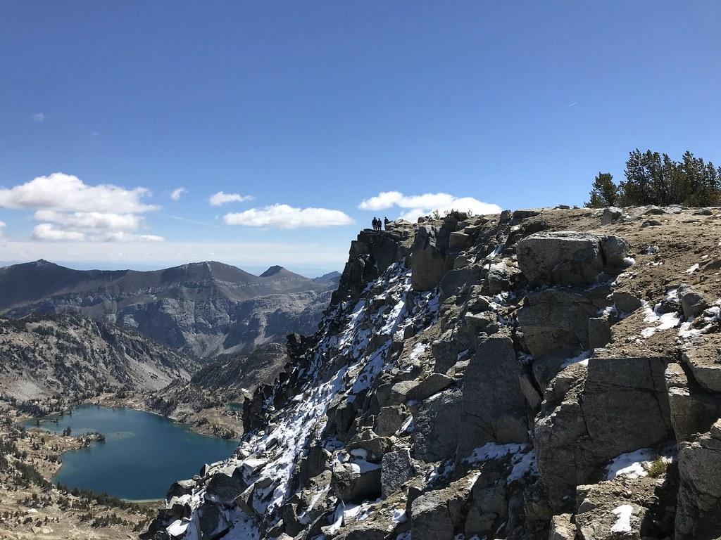 Glacier lake and Eagle Cap