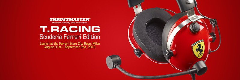 Thrustmaster T.Racing Scuderia Ferrari Edition Headset