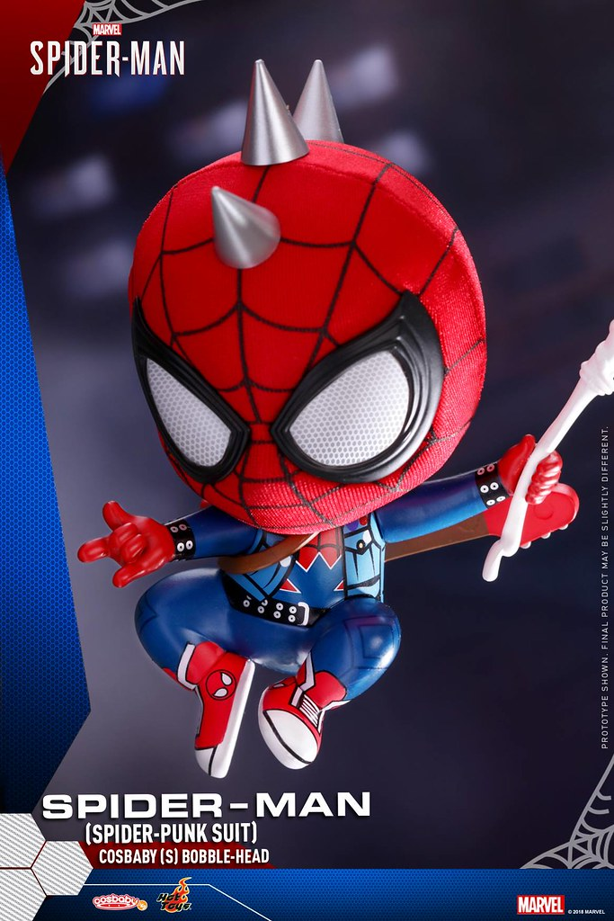 Hot Toys – COSB513 - COSB515 –《漫威蜘蛛人》蜘蛛人 Spider-Man Cosbaby (S) Bobble-Head
